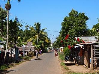 Île Sainte-Marie - Image: Sainte marie Madagascar paved road