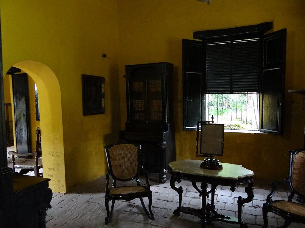 Sala de te. QUINTA DE SAN PEDRO ALEJANDRINO. SANTA MARTA. COLOMBIA