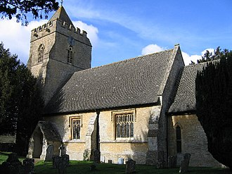 Salford, Oxfordshire - Image: Salford Church geograph.org.uk 125141