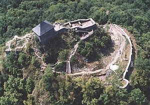 Kačić noble family - The ruins of Salgó Castle