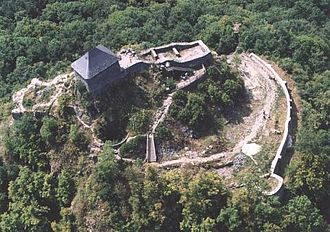 Kačić noble family - The ruins of Salgó Castle