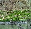 Saling Bridge - suspension bridge in Ghangche District of Gilgit–Baltistan 01.jpg
