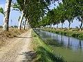 Sallèles d'Aude, Canal de Jonction 08-03.JPG