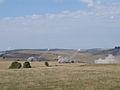 Salva de artilerie de antrenament executata cu subunitatea de LAROM in raionul de desfasurare a exercitiului ROUEX 09.jpg