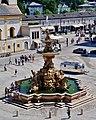 Salzburg Residenzplatz Brunnen 2.jpg
