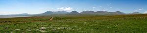 Abul-Samsari Range - Samsari Range as seen from the northern shore of Lake Paravani