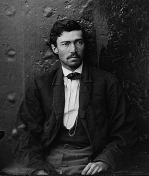 Samuel Arnold (conspirator) - Samuel Arnold after his arrest, 1865