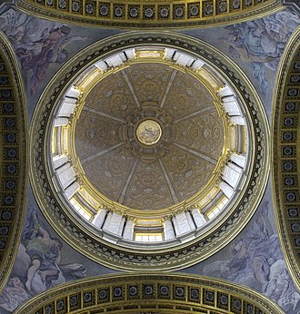 Giacinto Brandi - San Carlo al Corso, Dome