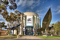 San Diego Air & Space Museum entrance 2009.jpg