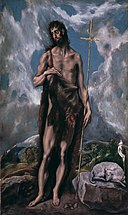 San Juan Bautista -El Greco