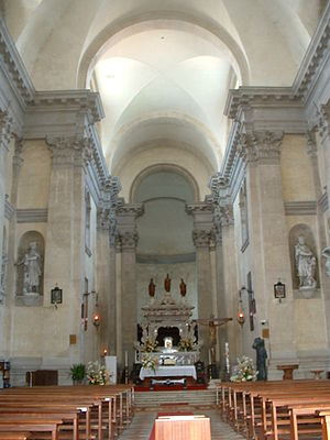 San Nicolò al Lido - Interior of San Nicolò al Lido.