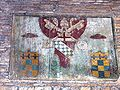 San Saba - santa Balbina - stemma di Innocenzo VIII nel portico 1000910.JPG