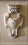 San francesco presso la villa del palco, interno, stemma gerini 02.jpg