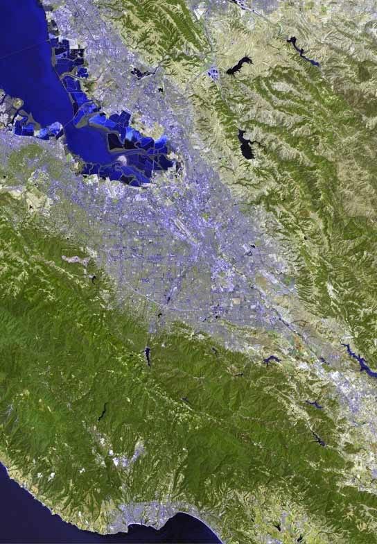 San jose satellite map