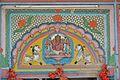 Sanctum Lintel Mural - Hanseswari Mandir - Bansberia Royal Estate - Hooghly - 2013-05-19 7569.JPG