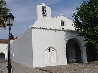 Sant Carles de Peralta Village in Balearic Islands, Spain