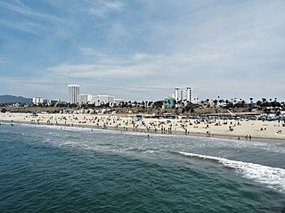 Santa Monica State Beach beach in Santa Monica, California, United States