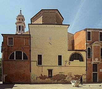 Santi Apostoli, Venice - Image: Santi Apostoli (Exterieur) Abside
