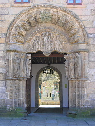 Compostela Group of Universities - Pazo de Fonseca, part of the University of Santiago de Compostela, the founding institution of the CGU.