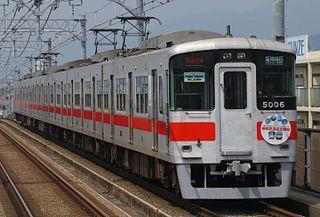 Sanyo 5000 series Japanese train type