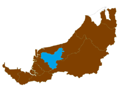 Location of Sibu