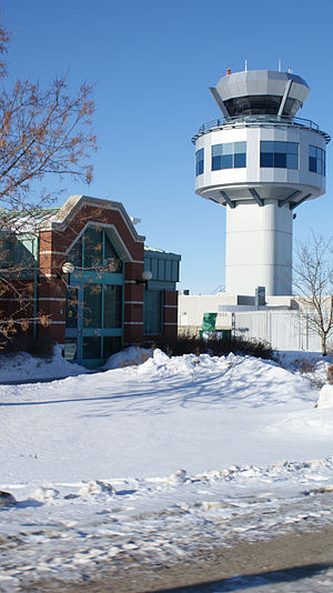 Nav Canada - The Nav Canada control tower in Saskatoon