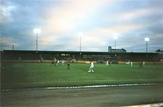 Alloa Athletic F.C. - Alloa playing at Berwick in their 1997–98 title-winning season