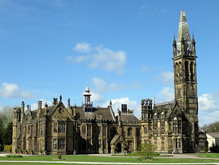 Scarisbrick Hall Grade I listed English country house in the United Kingdom