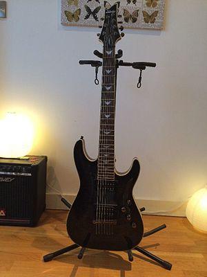 Schecter Guitar Research - A Schecter Omen Extreme (7 String) Guitar