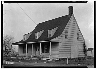 Dutch Colonial architecture (New Netherland) - Image: Schenk crooke house 2