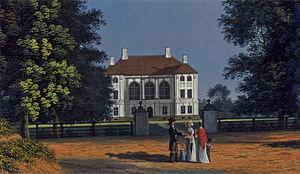 Pregolsky Microdistrict - Schloss Holstein, c. 1830