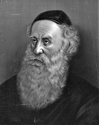Shneur Zalman of Liadi, founder of Chabad Lubavitch, 1775