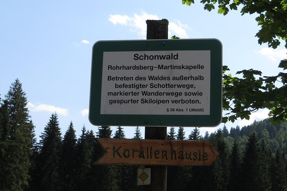 Schonwald sign