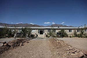 Maidan Wardak Province - A school being renovated in the Jalrez district of Wardak province in 2009