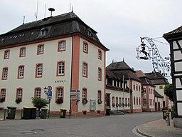 Baden-Württemberg, Rheinmünster, Abtei Schwarzach, Rathaus