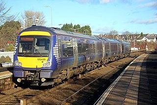 British Rail Class 170 Diesel multiple-unit train by Bombardier