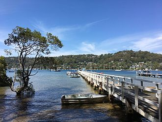 Scotland Island, New South Wales - The jetty in Scotland Island