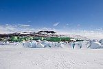 Scott Base, the New Zealand Research Station in the Antarctic (30812063932).jpg