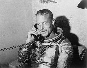Scott Carpenter on phone with JFK.jpg