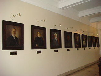 Chief Justice of the Supreme Court of the Philippines - Portraits of the chief justices at the Supreme Court Building.