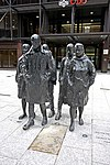 "Sculpture entitled ""Rush Hour"" - geograph.org.uk - 1192826.jpg"