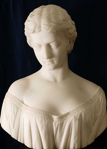345px-Sculptured_Bust_of_a_Classical_Bea