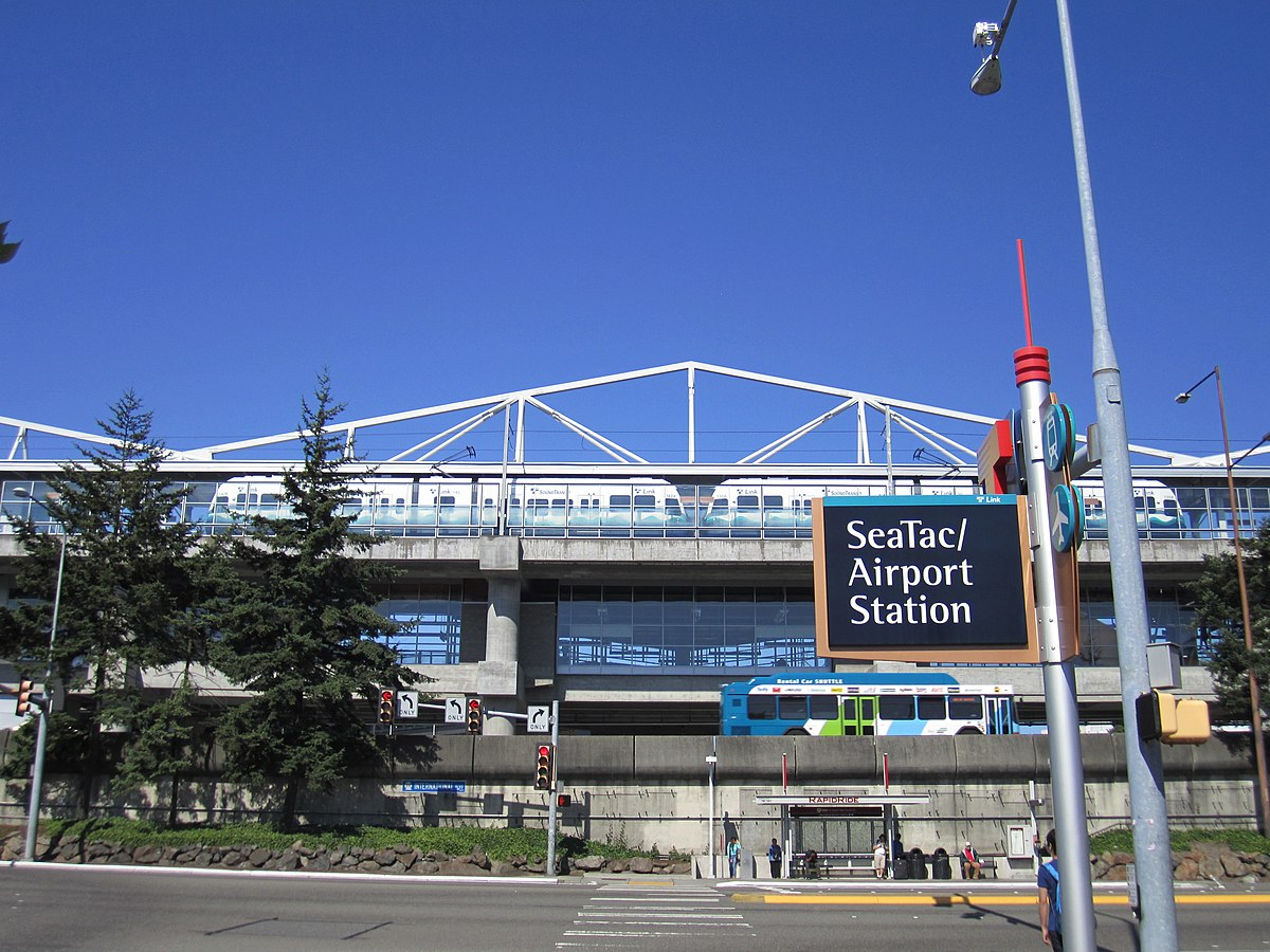 SeaTacAirport station Wikipedia