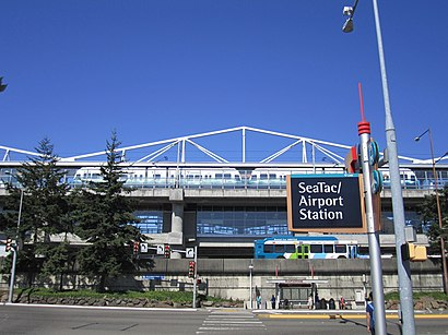 How to get to Seatac/Airport with public transit - About the place