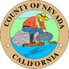 Official seal of Nevada County, California