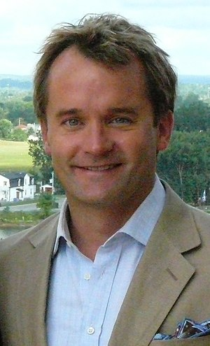 Seamus O'Regan - Seamus O'Regan at an interview with U.S. Ambassador David Jacobson, July 29, 2010
