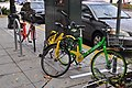 Seattle - 3 different systems' rental bikes.jpg