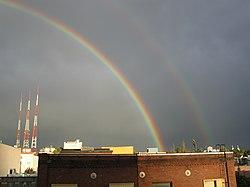 Arco iris doble