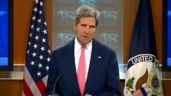 Fil:Secretary Kerry Comments on Syria.ogv