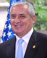 Secretary Kerry Delivers Remarks With Guatemalan President Perez Molina (cropped).jpg